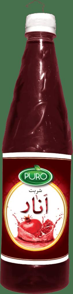 Puro Food Pomegranate Juice. Anar Sharbat