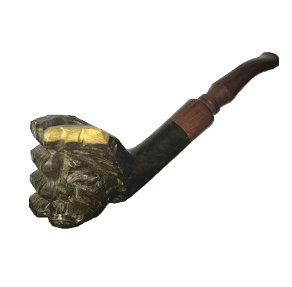 Acana Carved Hand Pipe
