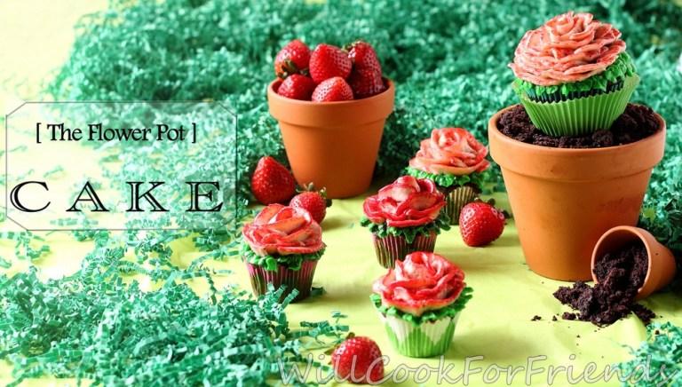 FlowerPotCake