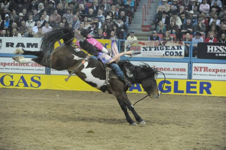 Tough Enough To Wear Pink NFR
