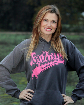 Tough Enough Hoodie - Purple Cowboy Blog