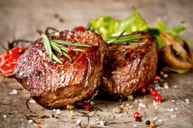 Seasoned Steak - Purple Cowboy Blog