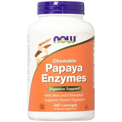 Papaya Enzyme Losenges, Chewable, 360 Tabs