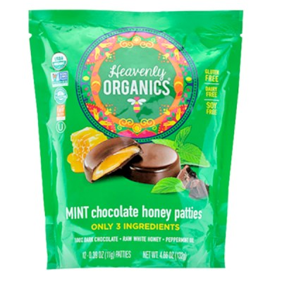 Chocolate Honey Mint Candies