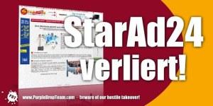 StarAd24 verliert beim ersten Eindruck