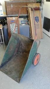 Garage Sale Find of the Week Wheelbarrow