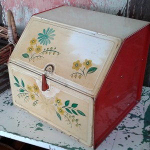 Find of the week. Tin Bread Box
