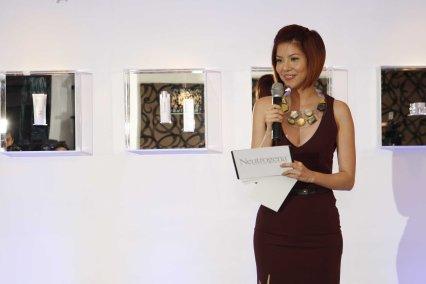 Neutrogena Event host Ms. Bianca Valerio
