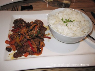 M Cafe - Beef Dish