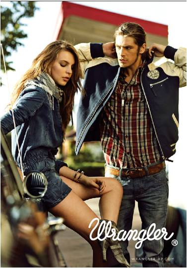 Wrangler Fall Winter Collection 2010 - Wild at Heart