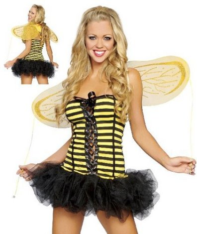 Party Gal Lingerie - Queen Bee