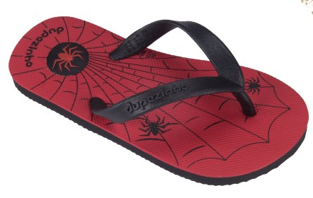 Dupe Slippers - Spider_red