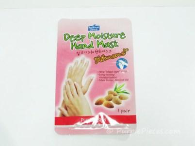 Purederm Deep Moisture Hand Mask - Almond