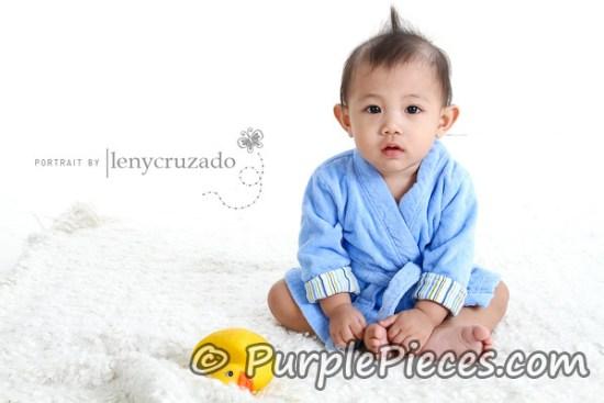 Baby Pictorial by Leny Cruzado - Baby Zaiel Rivera