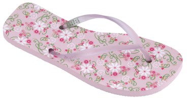 Dupe Slippers - Flor do Campo_Light Pink