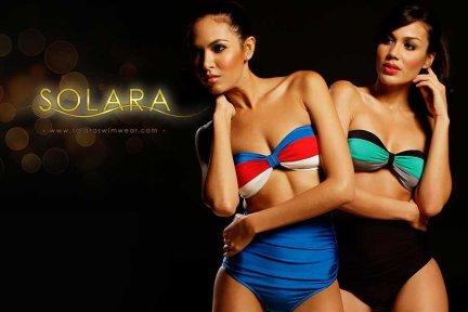 Solara Swimwear Basics - Color Blocking