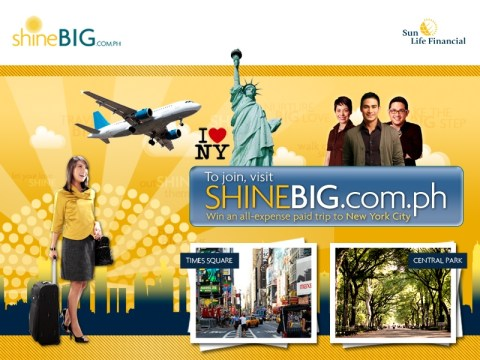 Sun Life Financial Philippines - Big Apple Promo