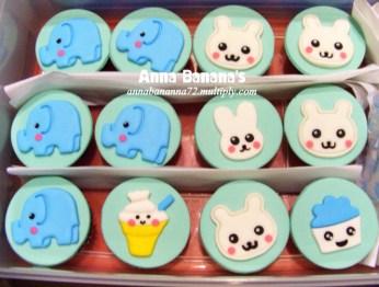 Anna Banana Online Bakeshop - Kawaii Cupcakes in Fondant