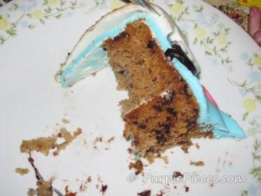 Banana Chocochip cake - Anna Banana