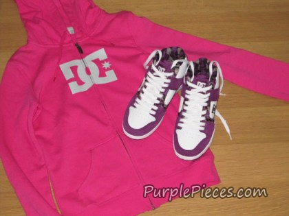DC Shoes Hot Pink Sweater