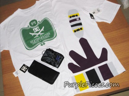 DC Shoes T Shirts and Wallets