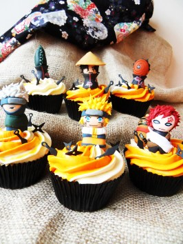 Naruto Cupcakes by Faeries Demise