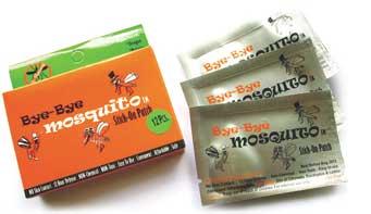 Bye Bye Mosquito Repellent Sticker