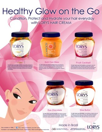 Lorys Hair Cream Variants