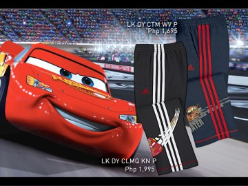 adidas disney cars - jogging pants