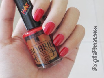 Bobby Nail Polish - Regular Vamp (Red)
