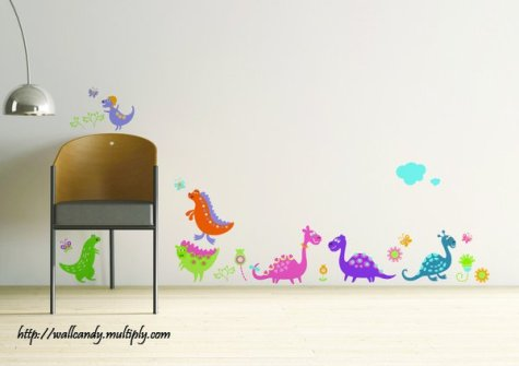 Wall Candy - Little Dinosaurs