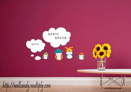 Wall Candy - Whiteboard Owl