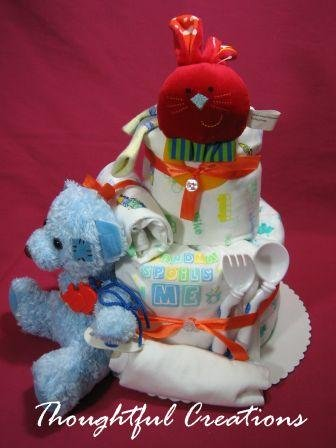 Thoughtful Creations - Diaper Cake