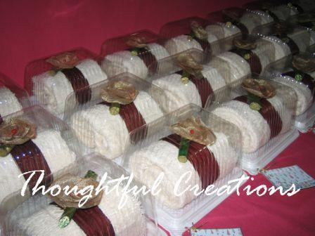 Thoughtful Creations - Towel Mini Cake Rolls