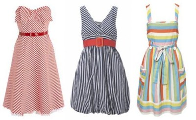 summer dresses stripes