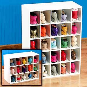 Melamine Shoe Cube