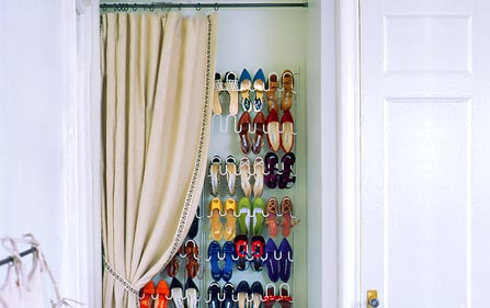 DIY Demi Closet Shoe Rack