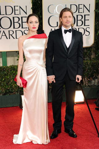 Angelina Jolie - 69th Golden Globe Awards