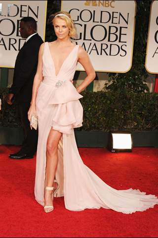 Charlize Theron - 69th Golden Globe Awards