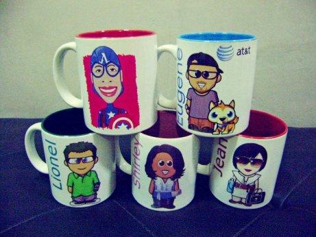 I Caricature U - Personalized Mugs