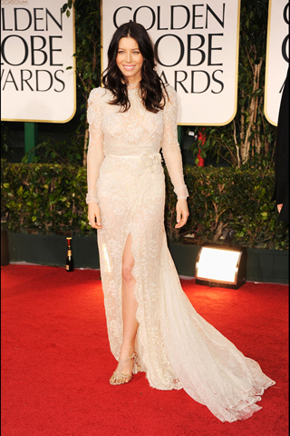 Jessica Biel - 69th Golden Globe Awards