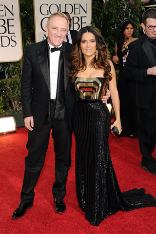 Salma Hayek - 69th Golden Globe Awards