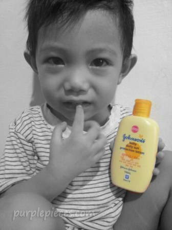 Johnsons Baby Daily Sun Protection Lotion