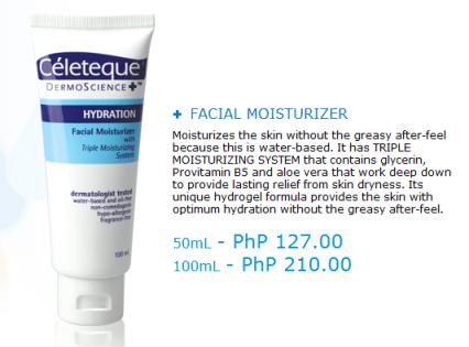 Celeteque DermoScience - Hydration Facial Moisturizer