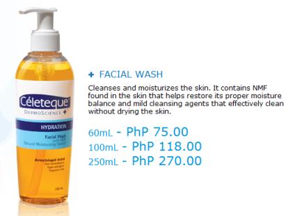 Celeteque DermoScience - Hydration Facial Wash