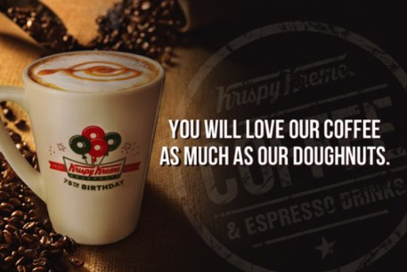 Krispy Kreme Birthday Mug - Coffee Passport