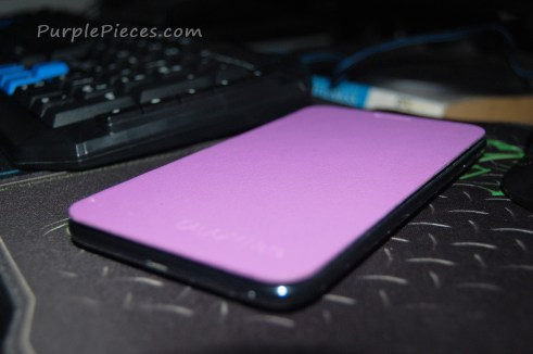 Samsung Galaxy Note Purple Flip Cover