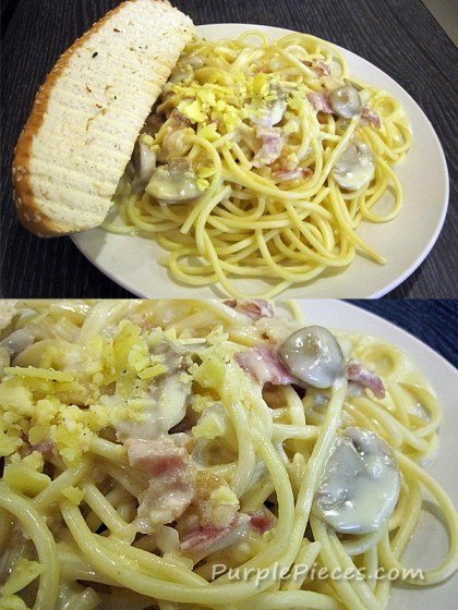Classic Carbonara - Oliver's Super Sandwiches
