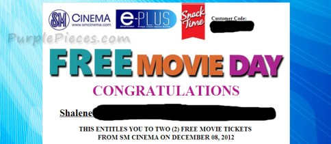 SM Cinema Free Movie Day