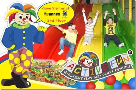 Active Fun SM North EDSA Annex
